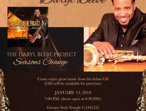 JAN 13: Daryl Beebe LIVE Concert & Birthday Celebration