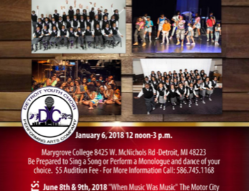 JAN 6: Detroit Youth Choir Auditions