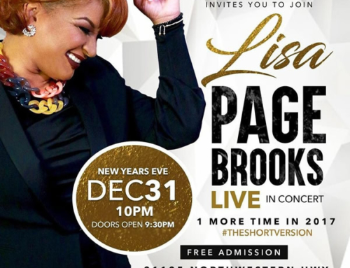 DEC 31: Lisa Page Brooks LIVE In Concert