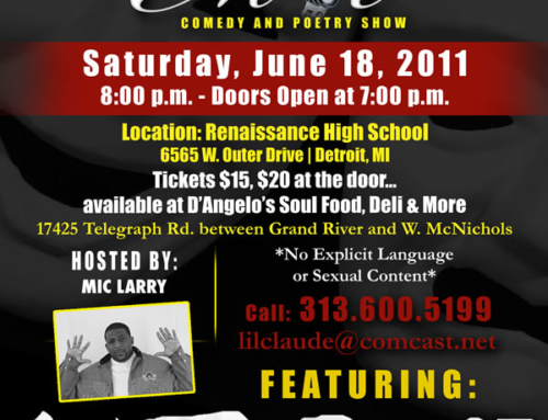 """""""Bless The Mic"""" Comedy and Poetry Show"""