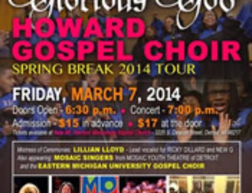 Howard University Gospel Choir in Concert