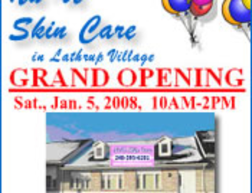 Nu U Skin Care Grand Opening