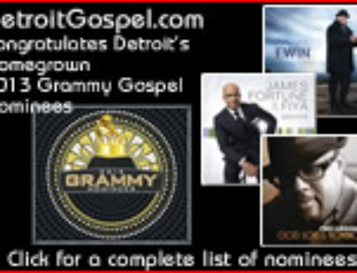 2013 Grammy Gospel Nominees