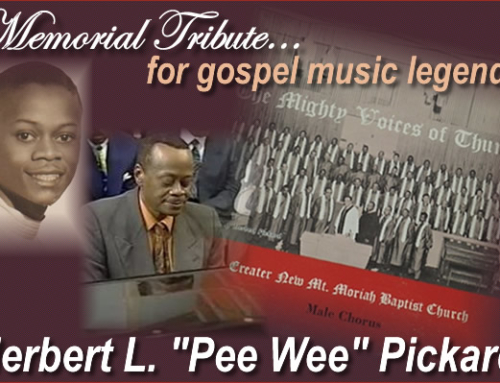 """MAR 20, 2016: Memorial Tribute for Herbert """"Pee Wee"""" Pickard"""