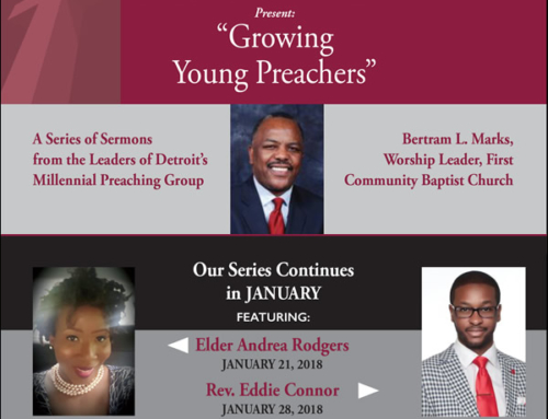 "JAN 21 & 28: ""Growing Young Preachers"" sermon series"