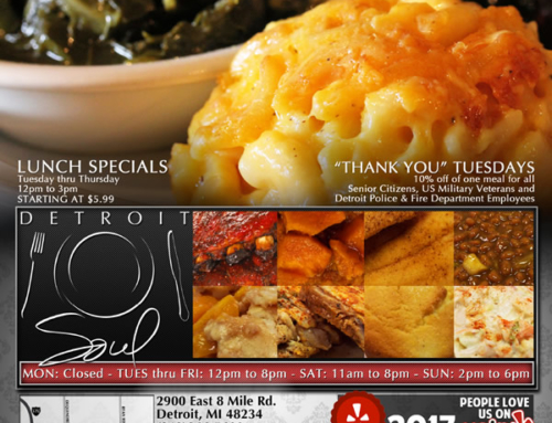 DETROIT SOUL …Changing The Soul Food Experience Forever!