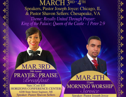 MAR 3-4: Men & Women's Weekend @ Victorious Believers Ministries COGIC