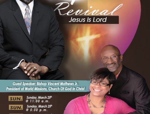 MAR 25 & 26: New Testament COGIC Holy Week Revival