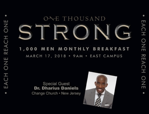 MAR 17: 1000 Men Monthly Breakfast at Triumph Church-East Campus