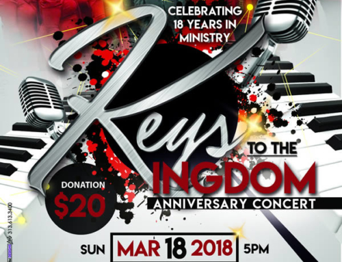MAR 18: Keys to the Kingdom Anniversary Concert