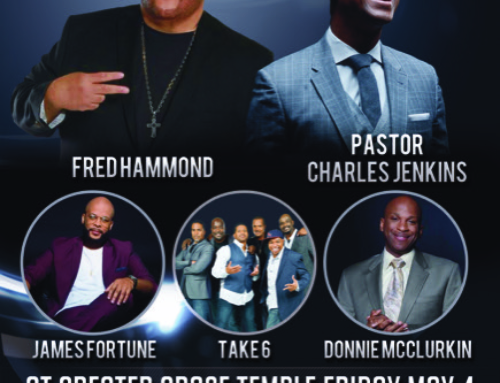 MAY 4: God's World celebrates 39 years with Fred Hammond, James Fortune & MORE