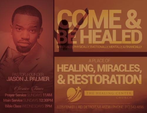 You're Invited To The Healing Center Church