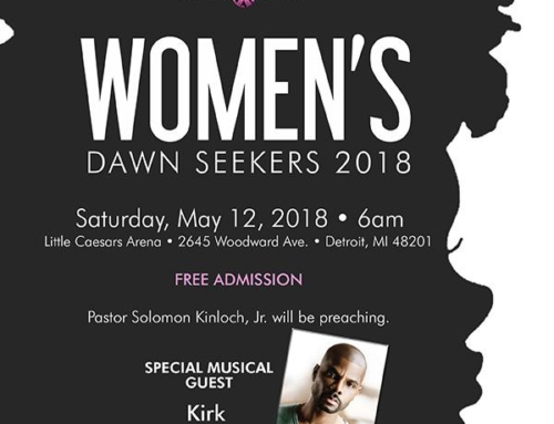 MAY 12: Triumph Church Welcomes Kirk Franklin for Women's Dawn Seekers