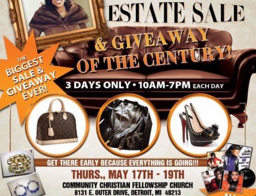"MAY 17-19: Vickie Winans' ""Last Call"" Estate Sale"