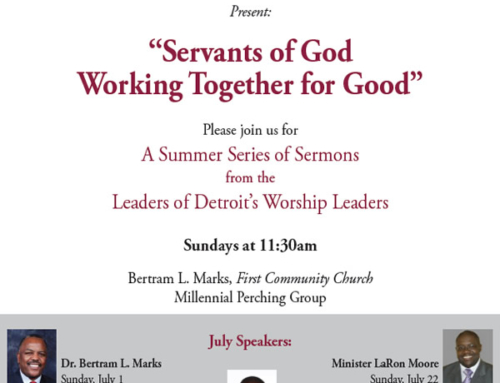 """Servants of God Working Together for Good"""