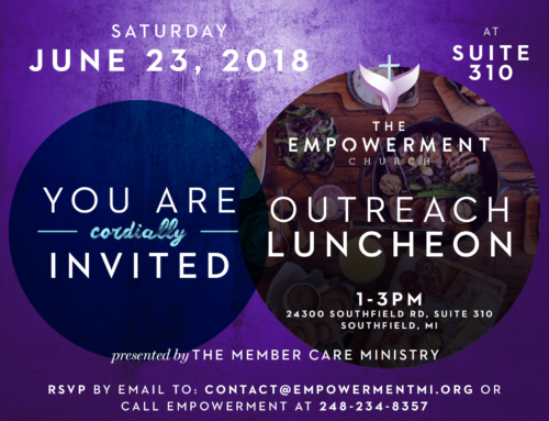 Empowerment Church Outreach Luncheon