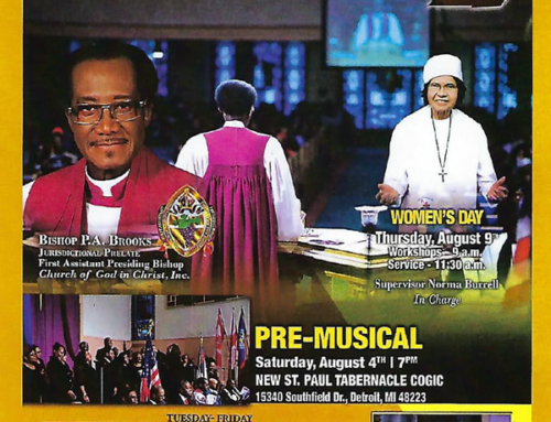 AUG 4: Pre-Musical / AUG 6-12: Join Bishop P.A. Brooks & more @ 104th Holy Convocation