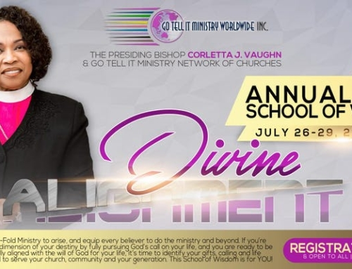 July 26-29: 2018 School Of Wisdom with Bishop Corletta J. Vaughn