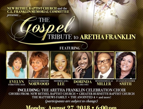AUG 27: The Gospel Tribute to Aretha Franklin