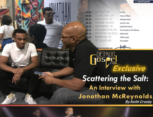 """Scattering the Salt:"" An Exclusive Interview with Jonathan McReynolds"