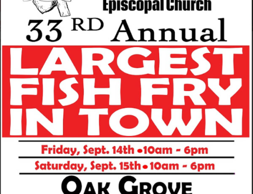 SEP 14 & 15: LARGEST FISH FRY IN TOWN