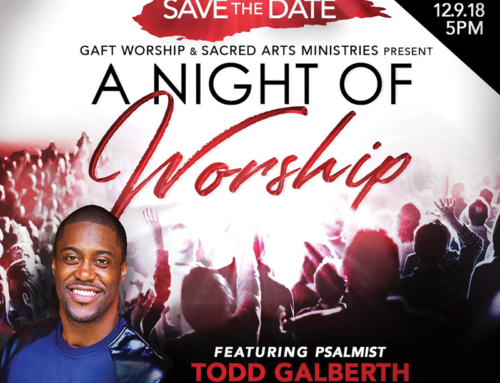DEC 9: An Evening of Worship with featured psalmist Todd Galberth