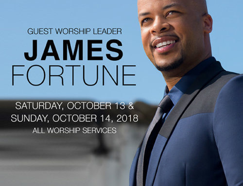 OCT 13 & 14: Triumph Church welcomes James Fortune