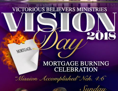 Vision Day 2018 with Evg. Joyce Rodgers & Psalmist Shana Wilson Williams