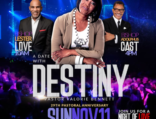 NOV 11: A DATE WITH DESTINY… Celebrating Pastor Valorie Bennett's 29th Pastoral Anniversary