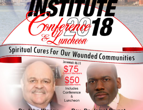 OCT 16: Dr. John Kinney & Rev. Dr. Jamal Bryant @ The Haney Institute 2018 Conference & Luncheon