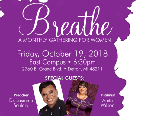 OCT 19: Triumph Church Breathe Women's Conference with Dr. Jasmine Sculark and musical guest Anita Wilson