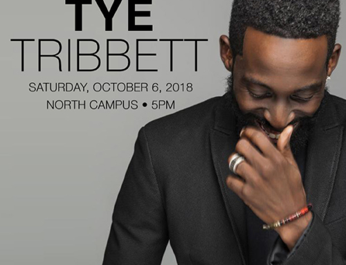 OCT 6 @ 5PM: Triumph Church welcomes Tye Tribbett