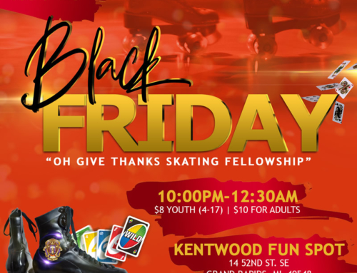 "NOV 23: Join Bishop Marvin Sapp & LFLC for BLACK FRIDAY ""Oh Give Thanks Skating Fellowship"""