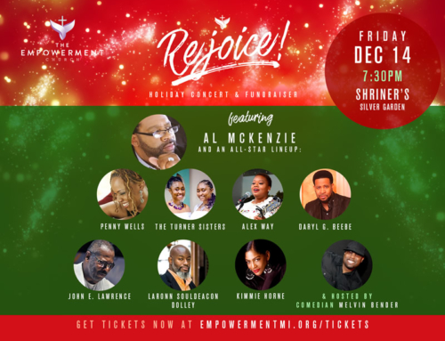 "DEC 14: Empowerment Church presents ""Rejoice!"" featuring Al McKenzie & Friends"