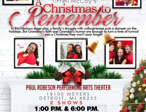 "DEC 15: GME presents Tirrell McCoy's hilarious stage play ""A Christmas to Remember"""