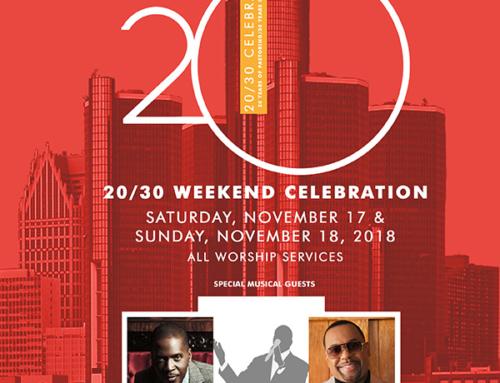 NOV 17 & 18: Triumph Church 20/30 Weekend Celebration with Donald Lawrence & Kurt Carr