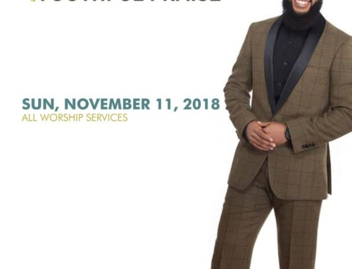 NOV 11: Triumph Church welcomes JJ Hairston & Youthful Praise