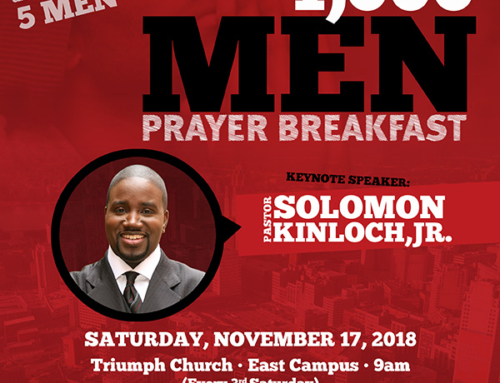 NOV 17: Triumph Church 1,000 MEN Prayer Breakfast