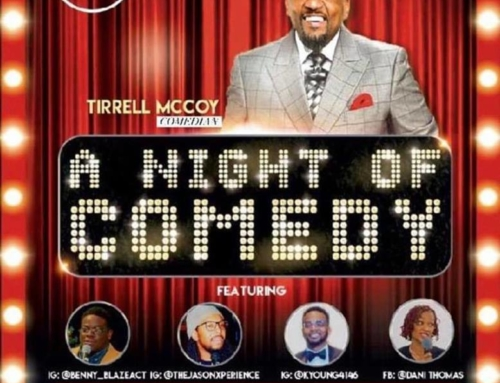 "FEB 8: Culture Detroit presents ""A Night of Comedy"" with host Tirrell McCoy"