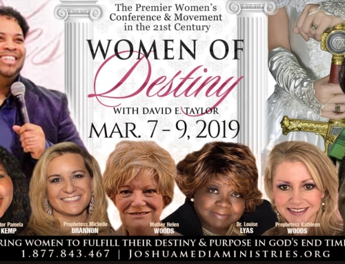 MAR 7-9: Calling All Women of Destiny! Walk In Your Royal Kingship and Power!