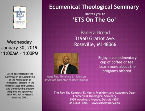 "JAN 30: ""ETS On The Go"""
