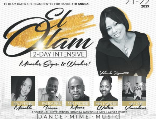 JAN 31: Early Registration ends for El Olam 2 Day Dance Intensive