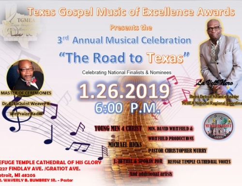 "JAN 26: ""The Road to Texas"" Musical Celebration"