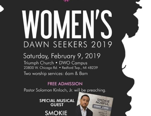 FEB 9: Triumph Church Women's Dawn Seekers 2019 with special musical guest Smokie Norful