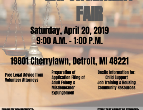APR 20: Expungement Fair @ Oak Grove AME Church