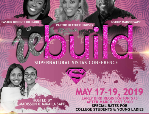 Accepting Registrations and Ads Now for Supernatural Sistas Conference Hosted By Madisson & Mikaila Sapp