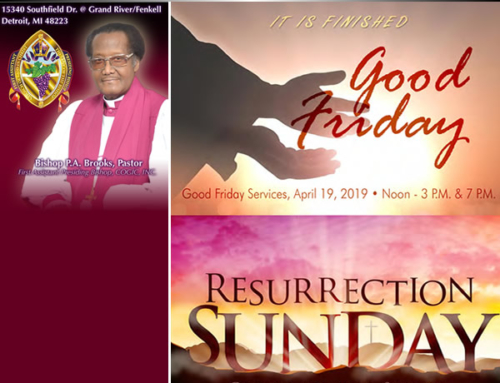 Good Friday & Resurrection Sunday Services at New St. Paul Tabernacle Church of God In Christ