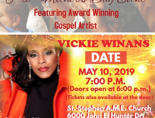 MAY 10: Sing, Bling, Laugh til You Scream featuring Vickie Winans