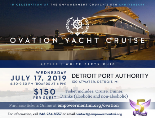 JUL 17: Empowerment Church's 5th Anniversary OVATION YACHT CRUISE