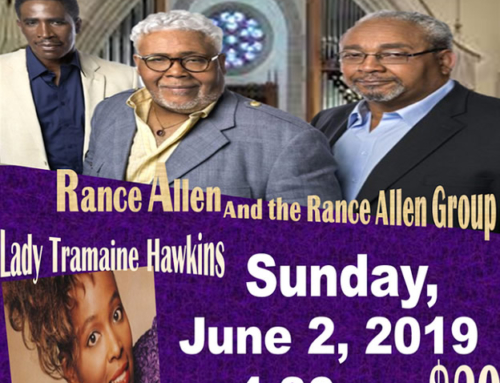 JUN 2: Rance Allen and Lady Tramaine Hawkins @ Hartford MBC